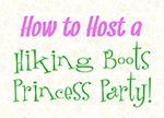 Princess Party brochure